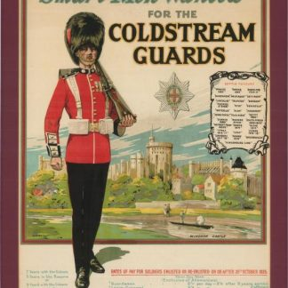 coldstream guard recruitment poster