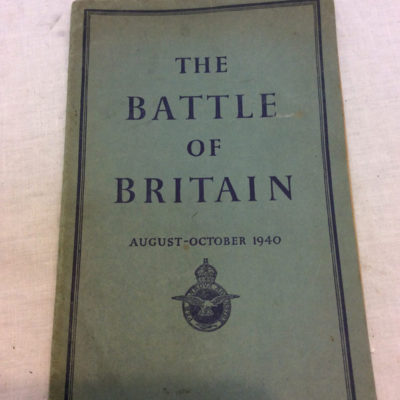 Air Ministry account of the Battle of Britain