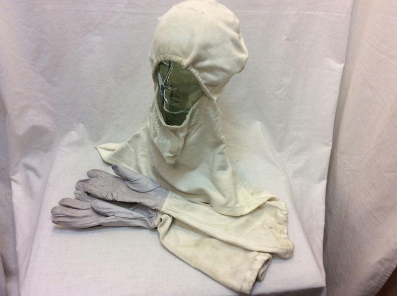 Anti Sweat / Anti Flash mask & gloves
