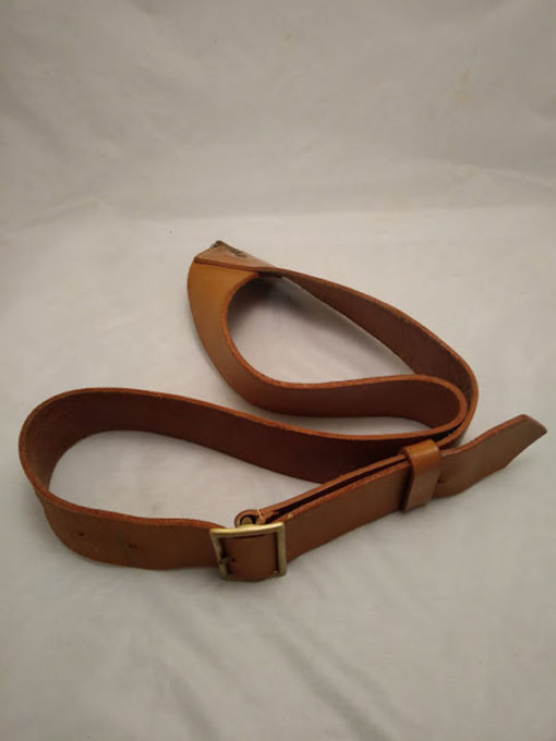 British Army pipe band drummers leather Crossbelt