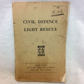 Civil Defence Light Rescue booklet