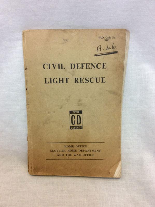 Civil Defence Light Rescue booklet