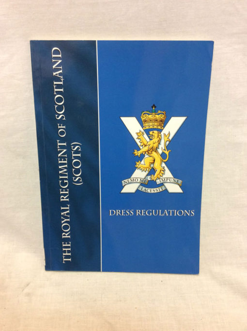 Dress regulations for Royal Regiment of Scotland booklet
