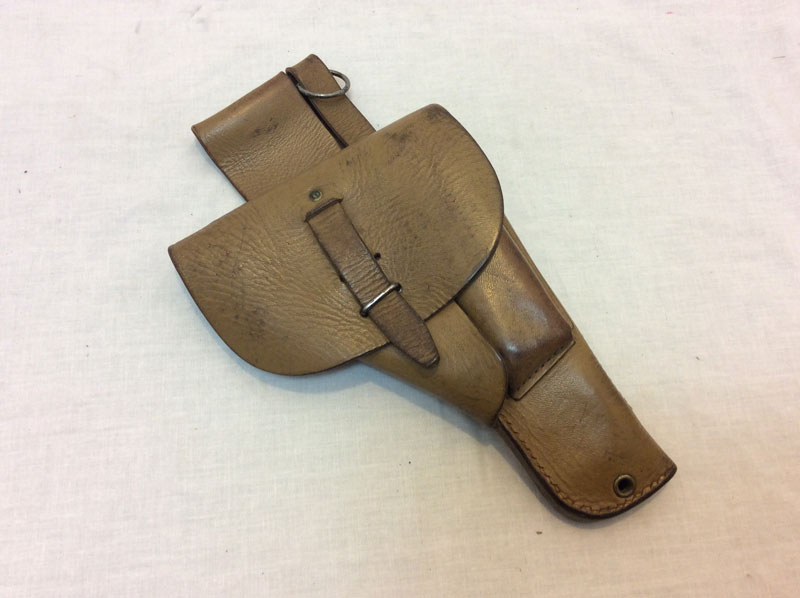 French Army MAC-50, 1948 leather gun holster