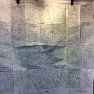 MOD OS map - 184 Salisbury & the plain 150000