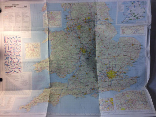 MOD map 1980 South England