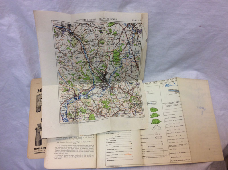 Notes on map reading, 1929, The War Office