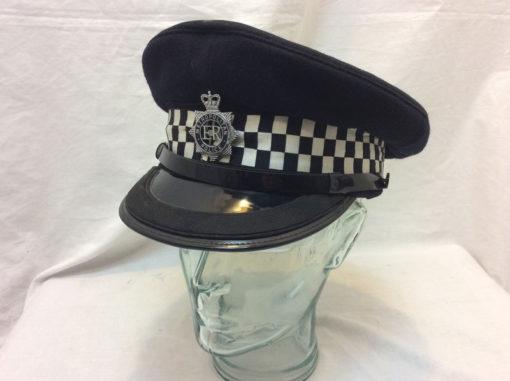 Police peaked cap