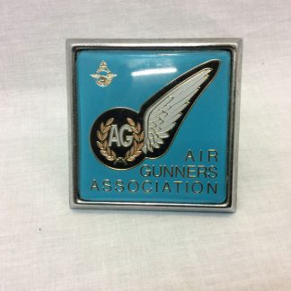 RAF Air Gunners Vintage metal car badge grill emblem logo
