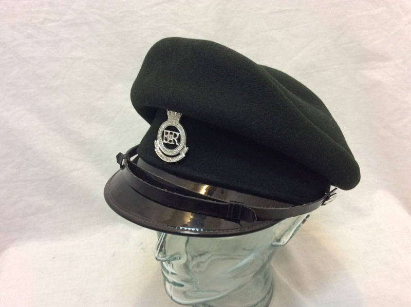 Royal military Academy Officers peaked cap Women vintage - Walk This Way 94258a5c14