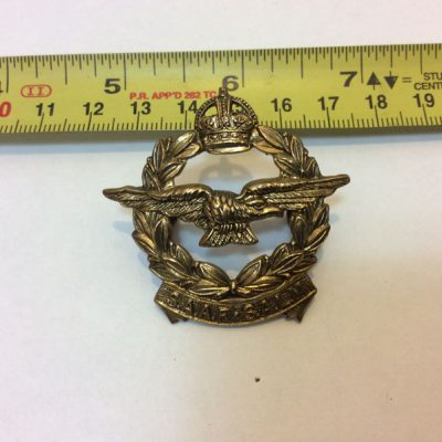 SAAF South African Air Force cap badge
