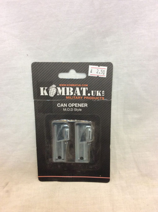 Tin opener x 2 Kombat UK