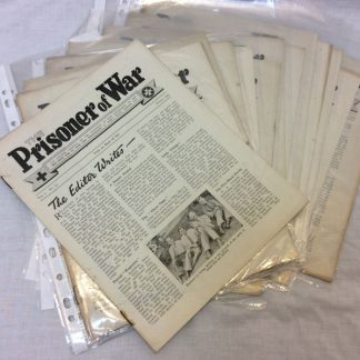 WW11 Prisoner of War Red Cross magazine