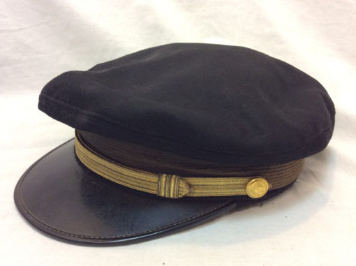 WW2 original Officer Visor Crusher cap USA