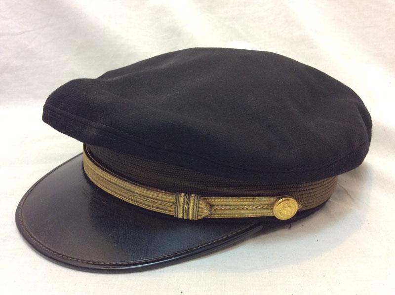 WW2 original Officer Visor Crusher cap USA