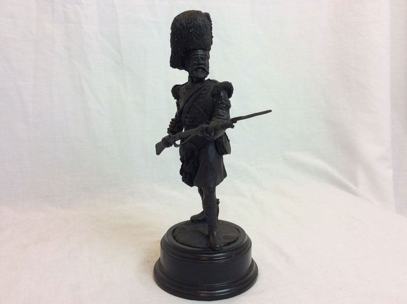 Argyll and Sutherland Highlanders bronze model