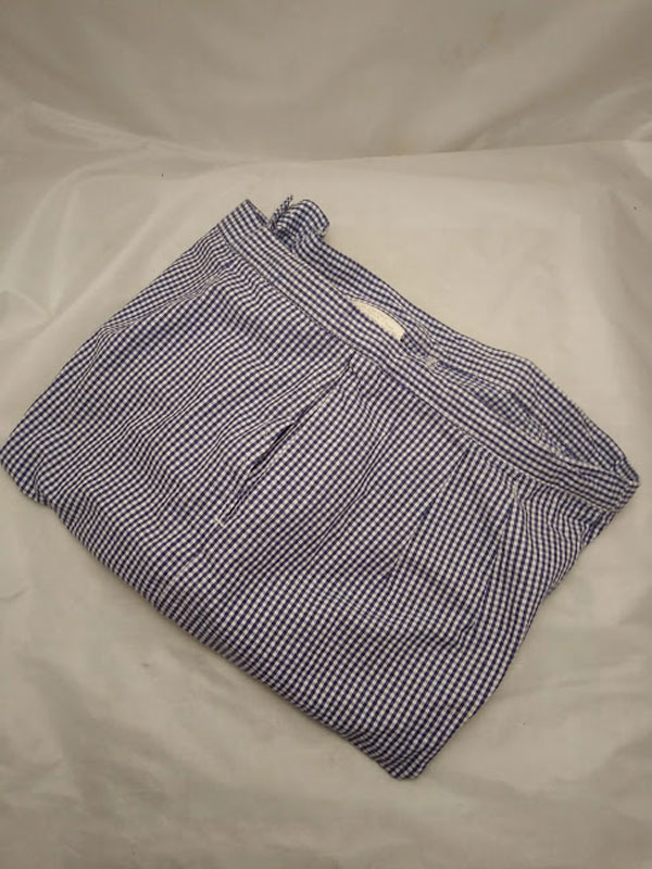 Chef Trousers blue checked