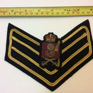 Coldstream Guards colour sergeant strips