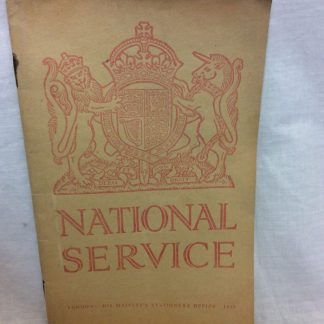 national service guide booklet 1939
