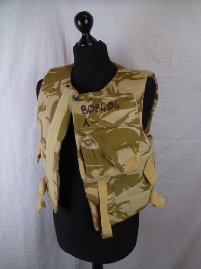British Army Desert Camo Flak vest Body Armour