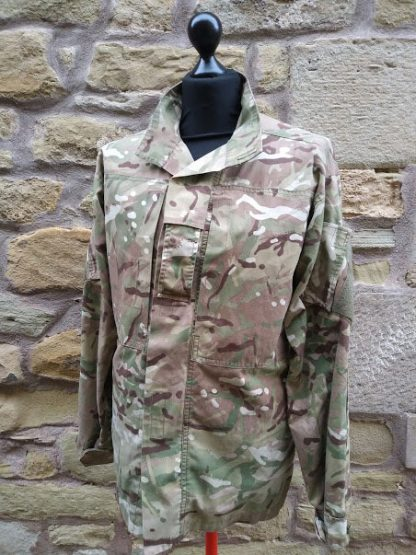 British Army Issue MTP camo Combat shirt jacket