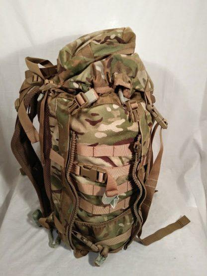 British Army infantry Bergan patrol sack MTP Camo 45 litre