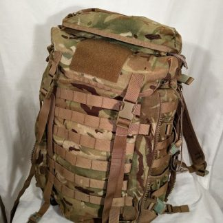 British Army MTP Camo 45 litre Infantry Bergen Patrol Sack