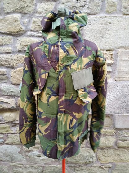 British Army Woodland camo NBC jacket