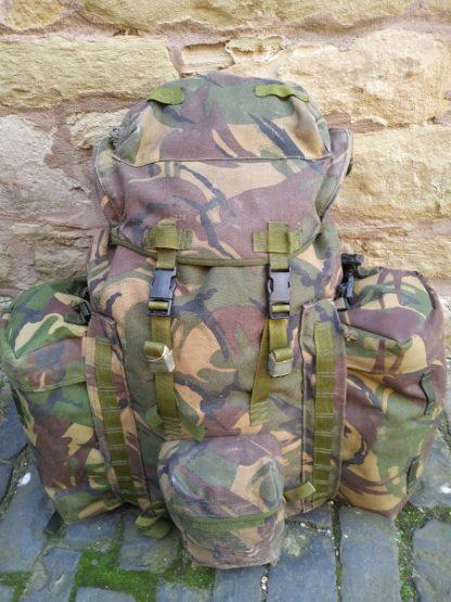 British Army PLCE Woodland DPM Bergen