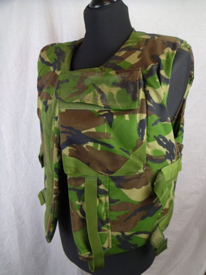 British Army Woodland Combat Flak Jacket