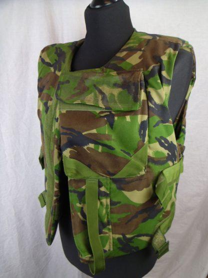 British Army Woodland Combat Flak Jacket