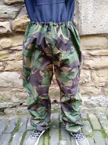 British Army Woodland Goretex Trousers