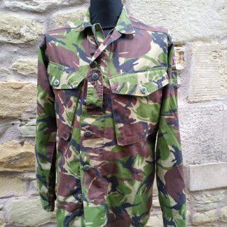 British Army issue combat shirt jacket Woodland DPM