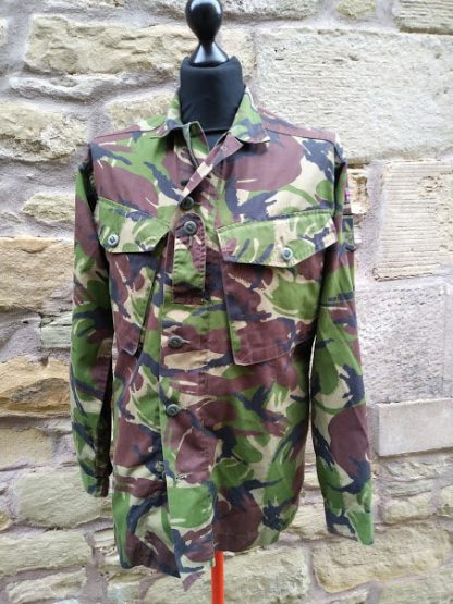 British Army issue combat shirt jacket Woodland DPM