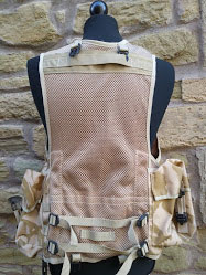 British Army issued Mans General purpose OPS waistcoat desert camo