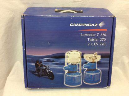 Camping Gaz stove & lantern set