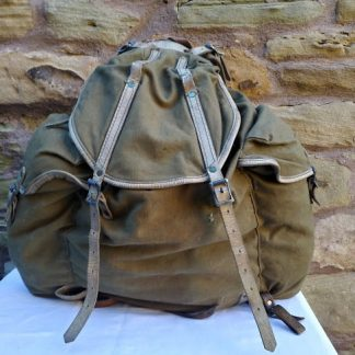 Commando style Army Rucksack vintage 1940's WW2 period American made