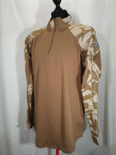 British Army Desert camo UBAC Shirt, current issue