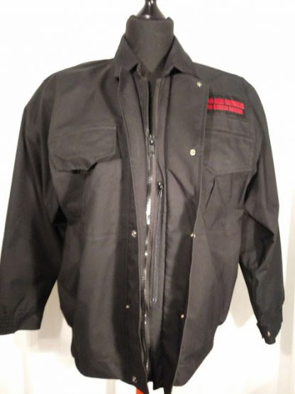 Firefighter softshell jacket