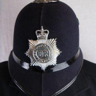 Metropolitan police helmet