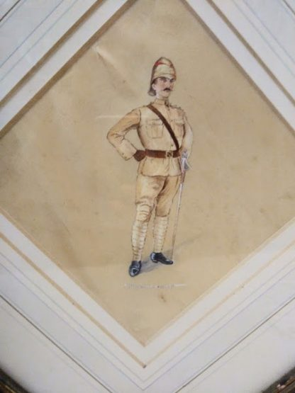 Picture of An Officer of the Northumberland Fusiliers