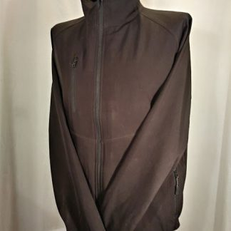 soft shell jacket, black