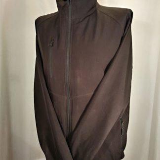 soft shell jacket, black