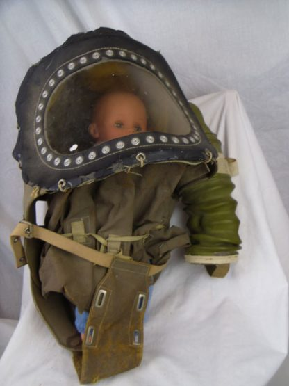 WW2 Baby Infant Gas Mask