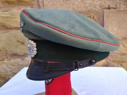 Wehrmacht Artillery Officers Peaked Cap WW2