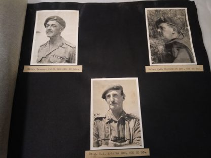10th Indian Division 1941-1945, a Sketchy Photographic Record plus booklets and cap badge