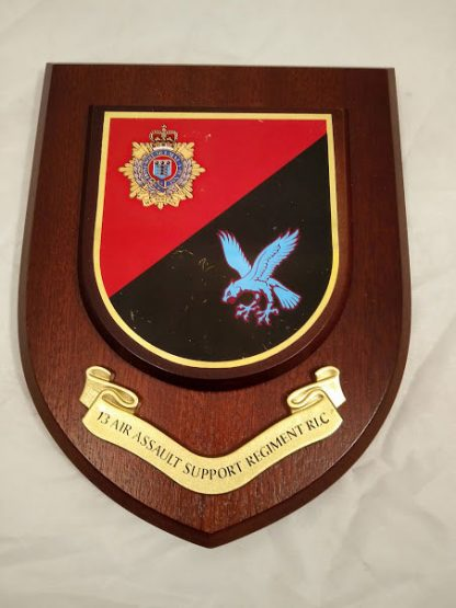 13 Air Assault Support Regiment RLC Mess Wall Plaque