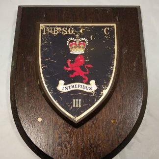 1st Btn Scots Guards Mess Wall Plaque