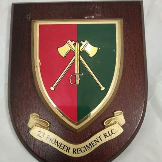 23 Pioneer Regiment Mess Wall Plaque