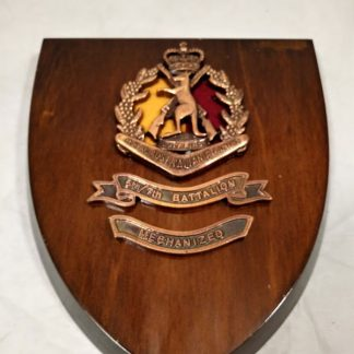 5th7th Battalion Royal Australian Regiment (Mechanised) Mess Wall Plaque